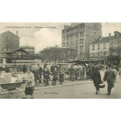 93 LIVRY GARGAN. Le Marché Carrefour de la Gare