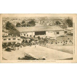 93 LE BOURGET. Aéroport Base de la Compagnie Aérienne Française. Avions et Hydravions vers 1919