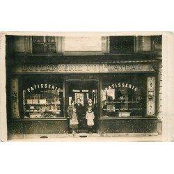 93 NEUILLY PLAISANCE. Plateau d'Avron. Boulangerie Pâtisserie vers 1926. Photo carte postale