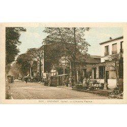 93 BAGNOLET. Le Marché Avenue Pasteur