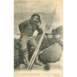 50 BAIE SAINT MICHEL. Le Marquis de Tombelaine. Métiers de la Mer Pêcheurs et Poissons Crustacés