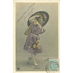 Spectacle et Théâtre. La Comédienne Régina 1905 par Nadar