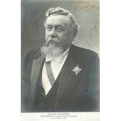 Personnages célèbres. Président de la République Française. Armand Fallières en 1906 par Nadar