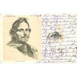 Rare Carte précurseur 1899. Artiste Peintre Philippe Le Roy