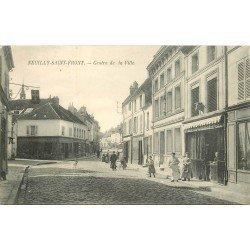 02 NEUILLY-SAINT-FRONT. Boucherie au Centre de la Ville 1905