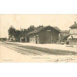 01 LA VALBONNE. Vue de la Gare 1902