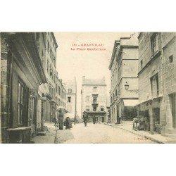 50 GRANVILLE. Coiffeur Place Cambernon. Edition Puel