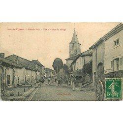 54 MONT LE VIGNOBLE. Grande Rue carte rare vers 1911