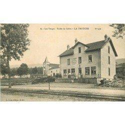 88 LA TROUCHE. Café Tabac Epicerie Mercerie et billets de Train Vallée de Celles