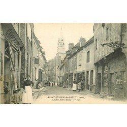 89 SAINT JULIEN DU SAULT. Charcuterie Rue Notre-Dame