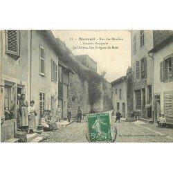 54 BACCARAT. Menuisier Mosseder Rue des Moulins 1908 anciens Remparts du Château des Evêques de Metz