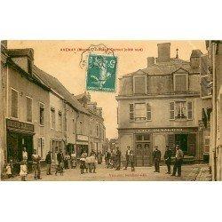51 AVENAY. Place Carnot Tabac Bouchrie Charcuterie Café du Val d'or et Comptoirs Français