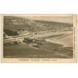 carte postale ancienne 14 OUISTREHAM. Ecluses et Port