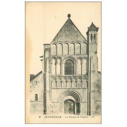 carte postale ancienne 14 OUISTREHAM. Eglise le Portail