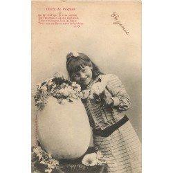 BERGERET Illustrateur. Eugénie et les Oeufs de Pâques 1904