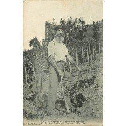 39 SALIN LES BAINS. Daclin doyen des vignerons salinois 1907 Vignes Cépages Vins et Raisins
