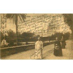 ROMA. S.S. Pio X a passeggio nei Giardini Vaticani 1913