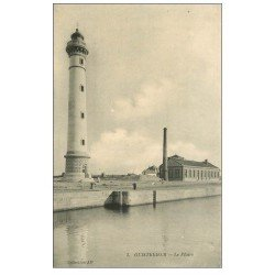 carte postale ancienne 14 OUISTREHAM. Le Phare