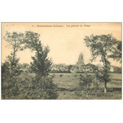 carte postale ancienne 14 OUISTREHAM. Le Village 1923