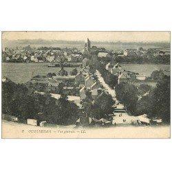 carte postale ancienne 14 OUISTREHAM. Vue générale 1922
