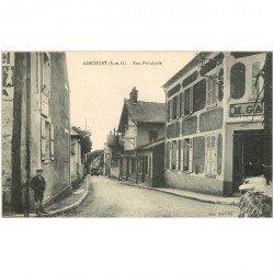 carte postale ancienne 95 AINCOURT. Rue Principale