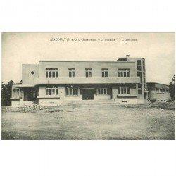 carte postale ancienne 95 AINCOURT. Sanatorium de la Bucaille Economat