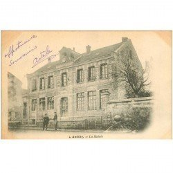 carte postale ancienne 95 ANDILLY. La Mairie 1903
