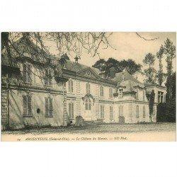 carte postale ancienne 95 ARGENTEUIL. Le Château du Marais