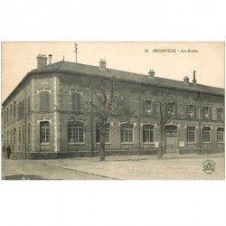 carte postale ancienne 95 ARGENTEUIL. Les Ecoles
