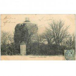 carte postale ancienne 95 ARGENTEUIL. Tour de Billy 1903 ou Château d'eau...