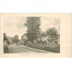carte postale ancienne 95 BAILLET. Hameau de Fayelle
