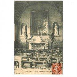 carte postale ancienne 95 PONTOISE. Chapelle des Carmélites 1913