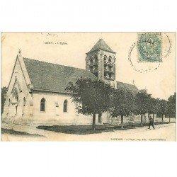 carte postale ancienne 95 PONTOISE. L'Eglise 1906
