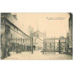carte postale ancienne 02 LAON. Palais de Justice 1904