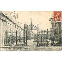 carte postale ancienne 02 LAON. Palais de Justice 1912