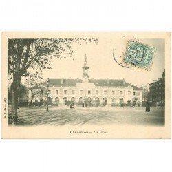 carte postale ancienne 94 CHARENTON LE PONT. Les Ecoles 1907