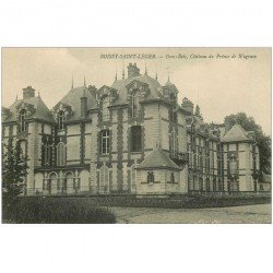 carte postale ancienne 94 BOISSY SAINT LEGER. Gros Bois Château du Prince de Wagram ter