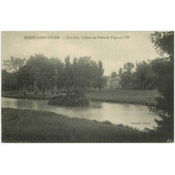 carte postale ancienne 94 BOISSY SAINT LEGER. Gros Bois Château du Prince de Wagram l'Ile