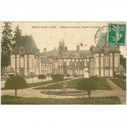carte postale ancienne 94 BOISSY SAINT LEGER. Gros Bois Château du Prince de Wagram façade