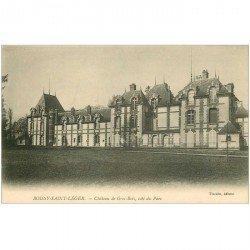 carte postale ancienne 94 BOISSY SAINT LEGER. Gros Bois Château du Prince de Wagram Parc