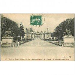carte postale ancienne 94 BOISSY SAINT LEGER. Château du Prince de Wagram 1912