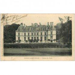 carte postale ancienne 94 BOISSY SAINT LEGER. Château du Piple 1903