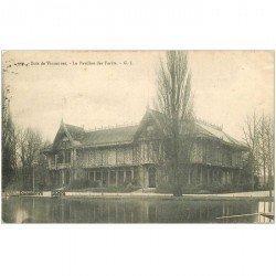 carte postale ancienne 94 BOIS DE VINCENNES. Le Pavillon des Forêt 1905