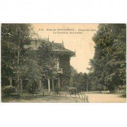 carte postale ancienne 94 BOIS DE VINCENNES. Le Pavillon des Forêt dans les Iles