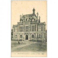 carte postale ancienne 94 ARCUEIL CACHAN. Hôtel de Ville