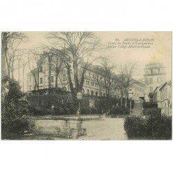carte postale ancienne 94 ARCUEIL CACHAN. Caisse Dépôts et Consignations ancien Collège Albert le Grand