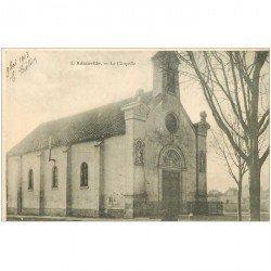 carte postale ancienne 94 ADAMVILLE. La Chapelle 1903