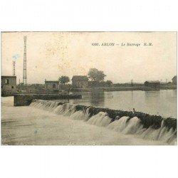 carte postale ancienne 94 ABLON SUR SEINE. Le Barrage