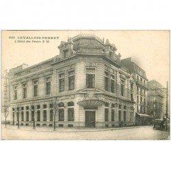 carte postale ancienne K. 92 LEVALLOIS-PERRET. Hôtel des Postes Télégraphes et Téléphones 1930