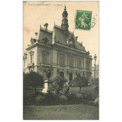 carte postale ancienne 92 LEVALLOIS PERRET. La Mairie 1913